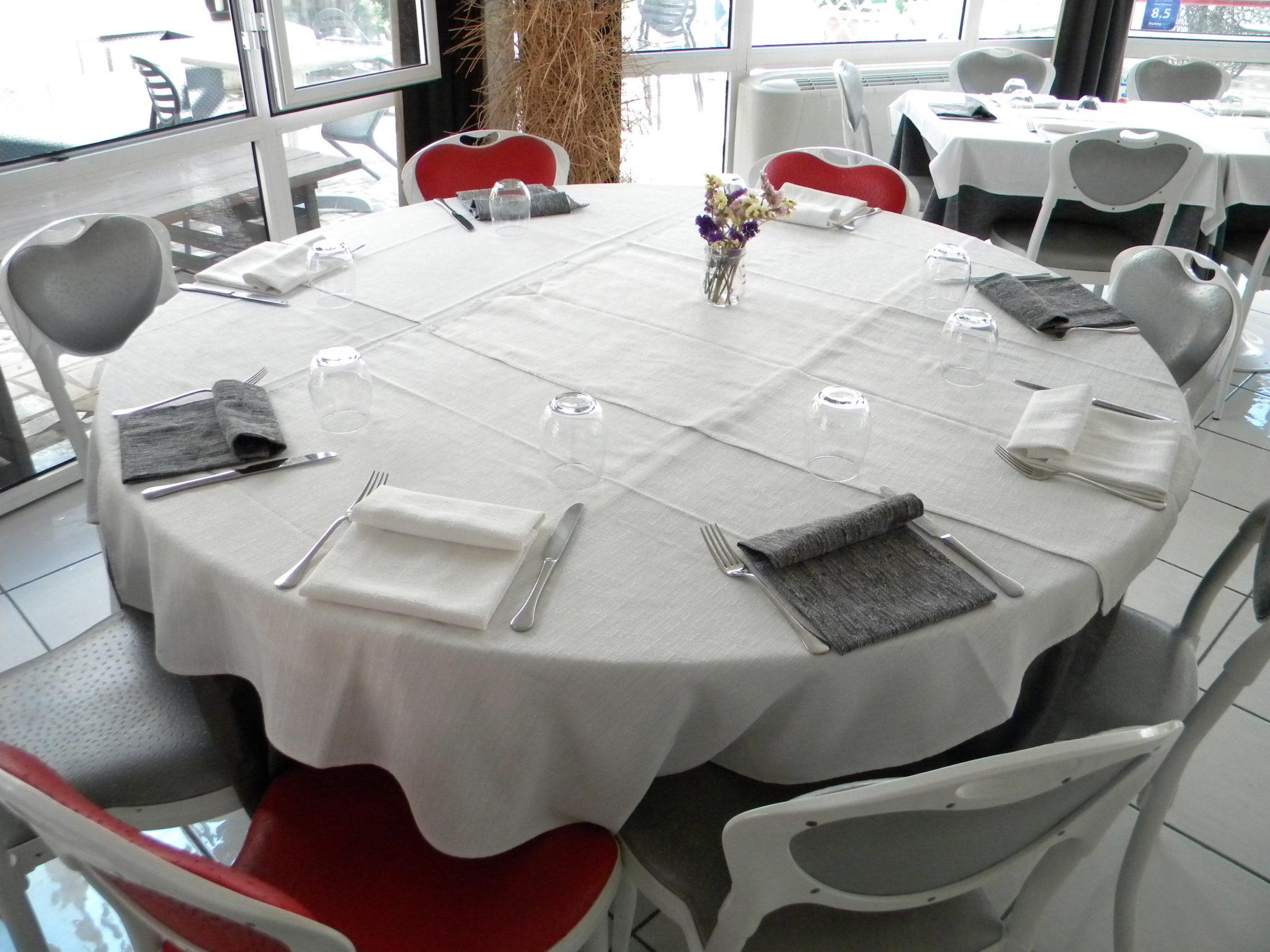Tavolo ristorante Hotel Genova Scalea